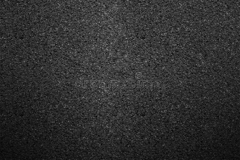 黑海绵抽象宏观纹理  免版税库存图片