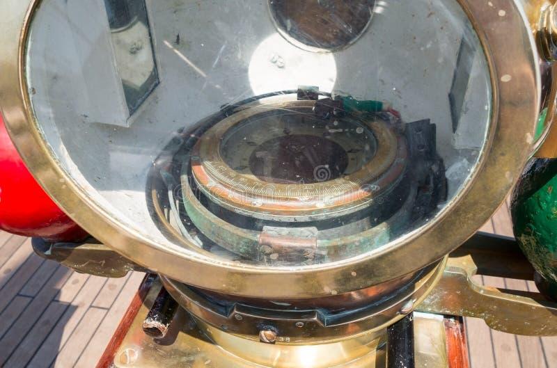 海洋指南针 图库摄影