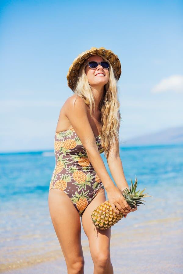 海滩时尚概念 库存图片