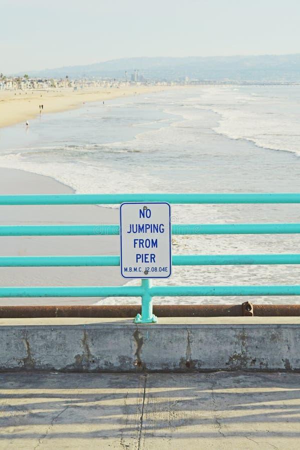 海滩曼哈顿 库存照片