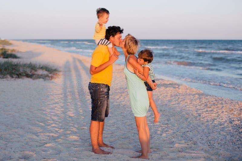 海滩有系列的乐趣热带 库存照片