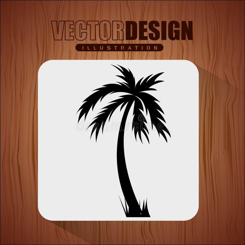 海滩构思设计 皇族释放例证