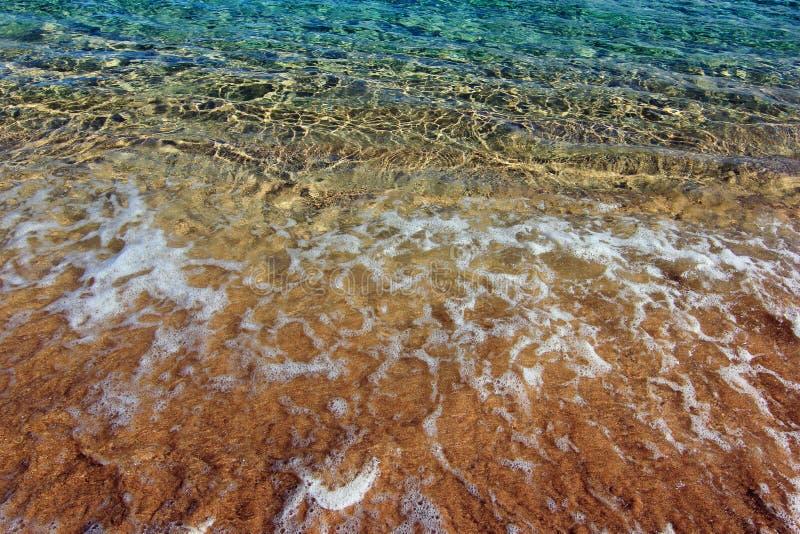 海洋泡沫 库存图片