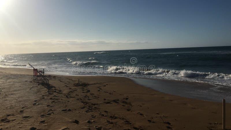 海滩波多里哥 库存照片