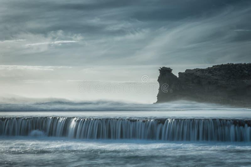 海洋浪花 库存图片
