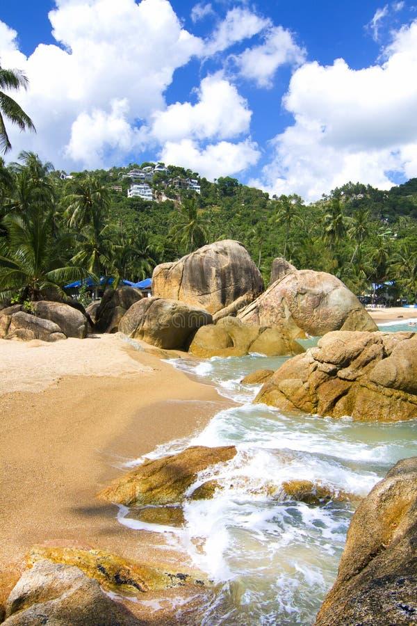 海滩海岛 库存图片