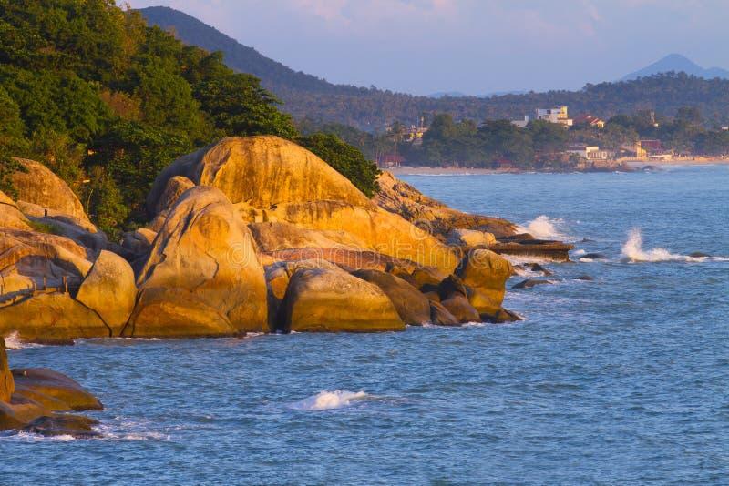 海滩海岛 图库摄影
