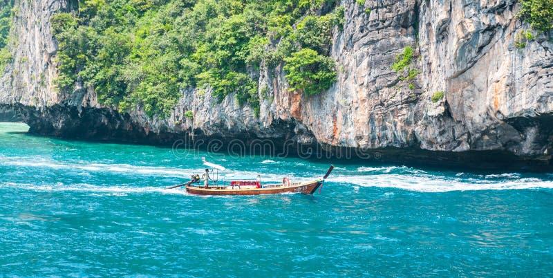 海滩海岛kata普吉岛泰国 免版税库存图片