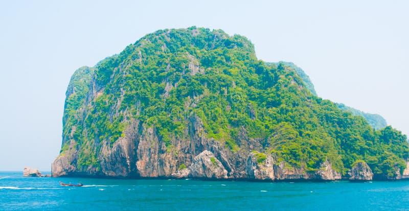 海滩海岛kata普吉岛泰国 图库摄影