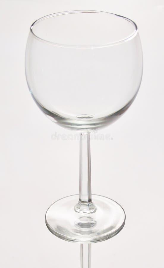 海滩玻璃午餐酒 免版税库存照片