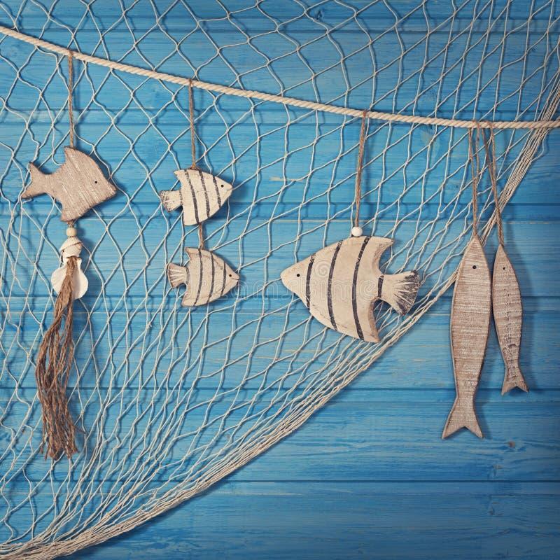 海洋生物装饰 图库摄影