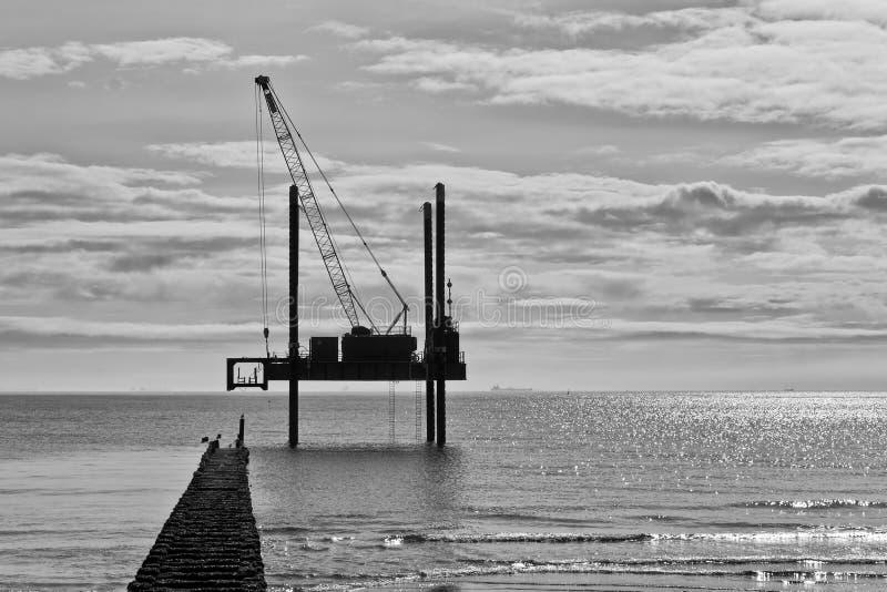 海建筑 库存图片