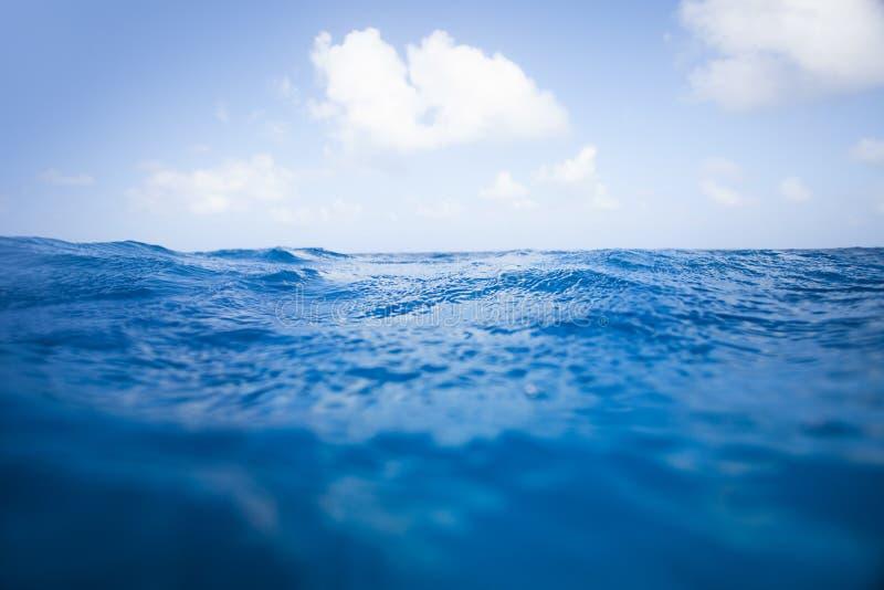 海洋表面 免版税库存照片
