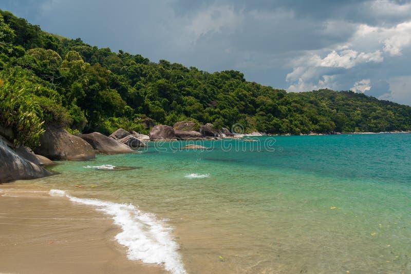 海滩巴西热带 免版税库存图片