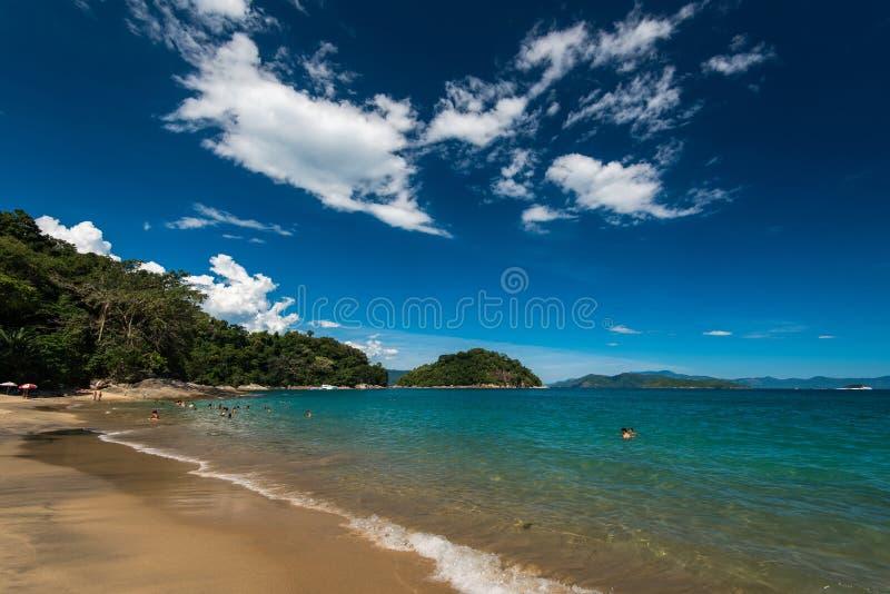 海滩巴西热带 免版税图库摄影