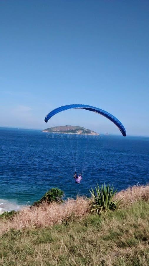 海滩里约热内卢 免版税库存图片