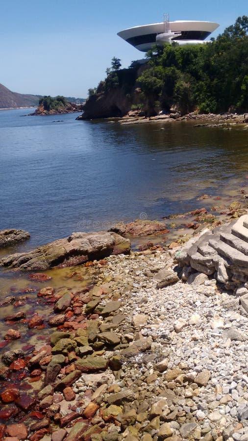 海滩里约热内卢 免版税库存照片