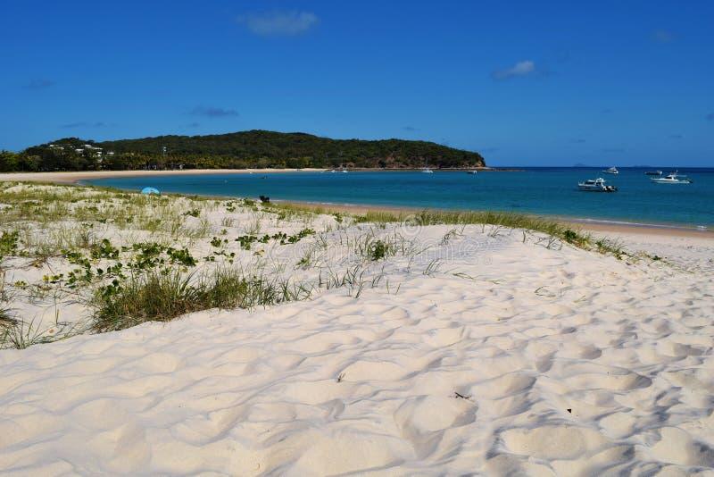 海滩隐藏的天堂 库存照片
