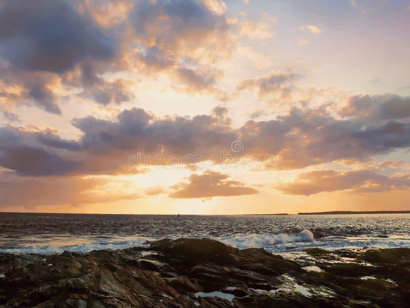 海洋驱动纽波特 库存图片