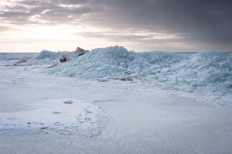 冻海 库存图片