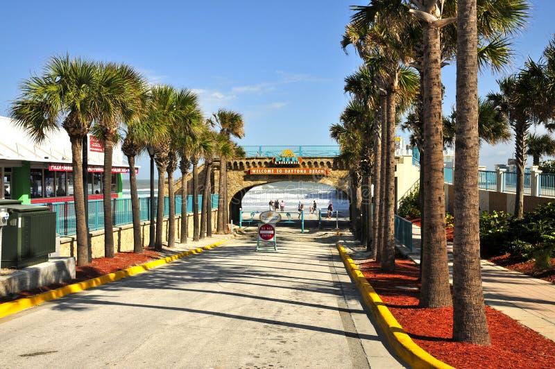 海滩daytona佛罗里达 免版税库存照片