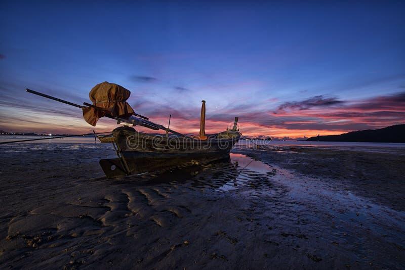 海scape在普吉岛泰国 免版税库存图片