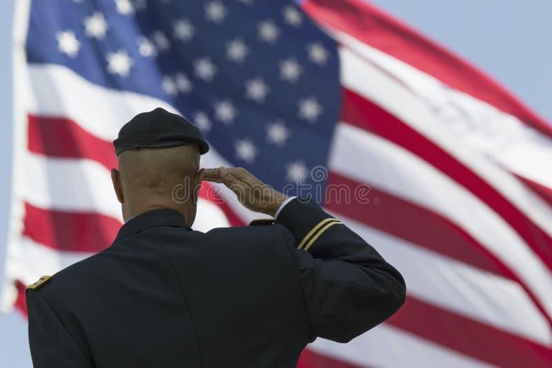 浸泡 米尔顿S 向U致敬的鲱鱼 S 旗子,洛杉矶国家公墓每年纪念事件, 2014年5月26日,加利福尼亚,美国 库存图片