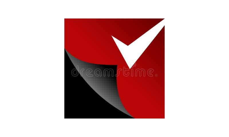 涂层系统商标设计模板 皇族释放例证
