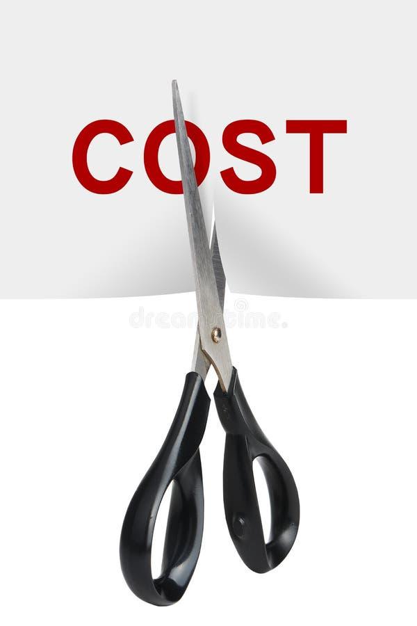 消减成本 免版税库存照片