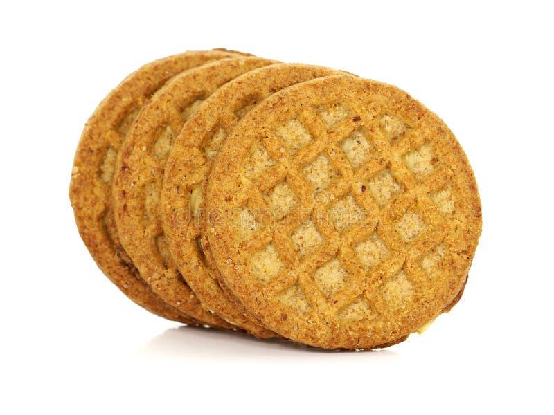 消化生物整粒饼干 免版税库存照片