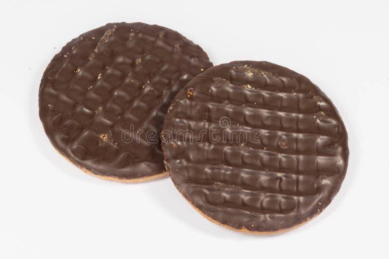 消化简单的巧克力 免版税图库摄影