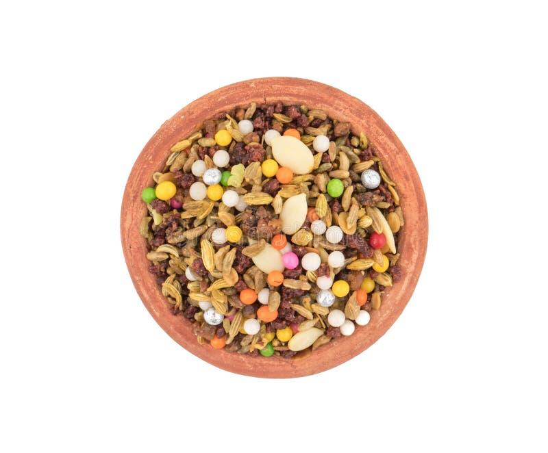 消化Mukhwas食物 免版税库存图片