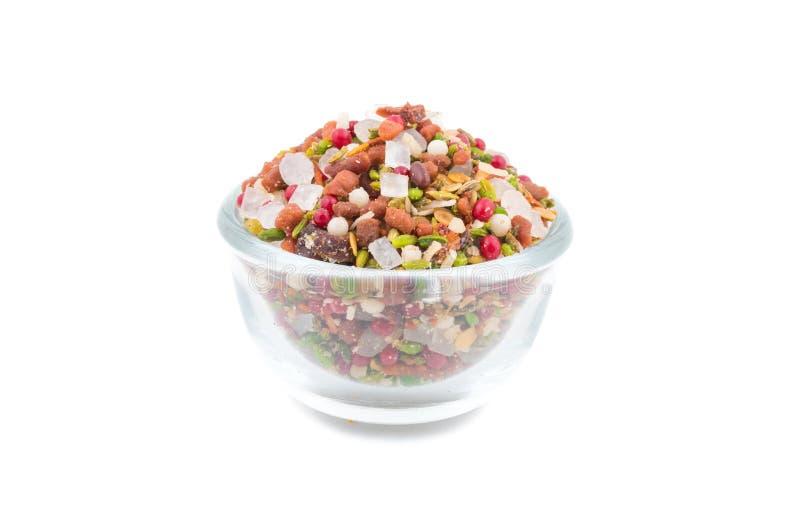 消化Mukhwas食物 免版税图库摄影