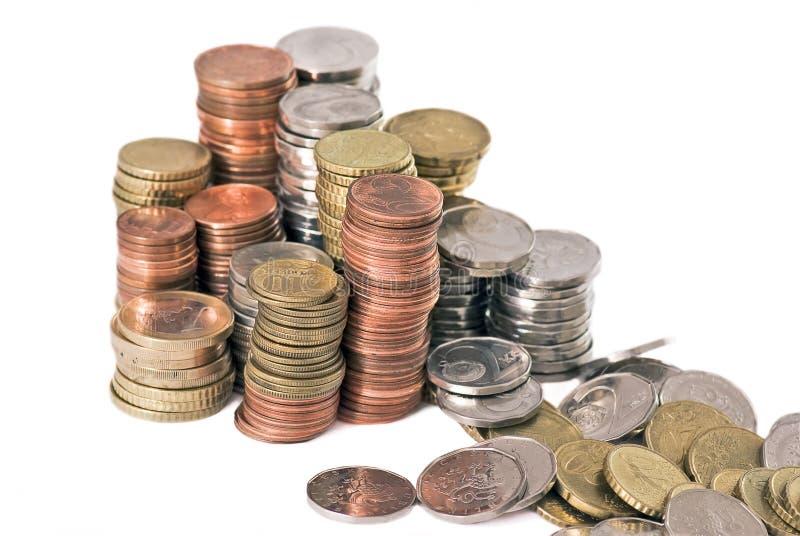 消失货币 免版税图库摄影