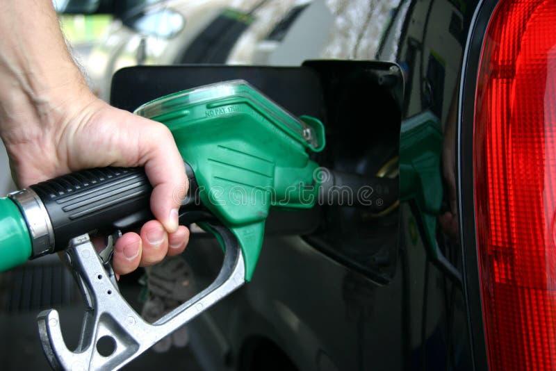 消耗大的气体 免版税库存图片
