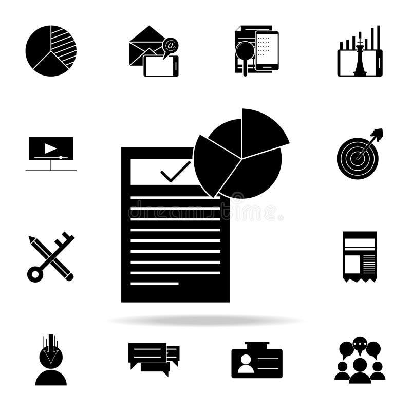 消费者调查象 网和机动性的数字式营销象全集 皇族释放例证
