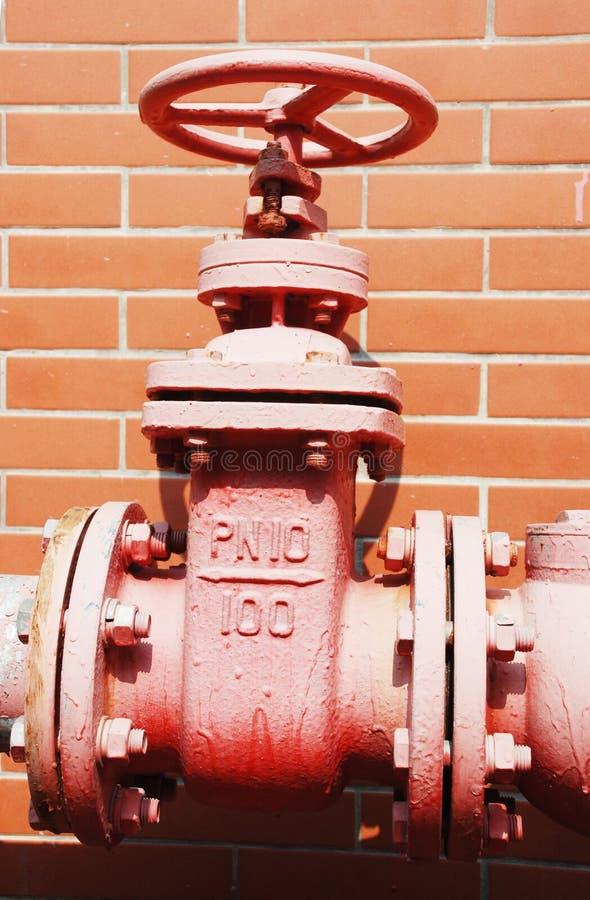 消防栓水 免版税库存图片