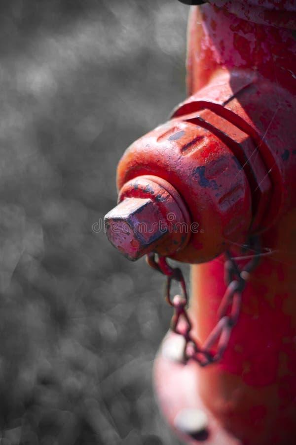 消防栓边口岸 图库摄影