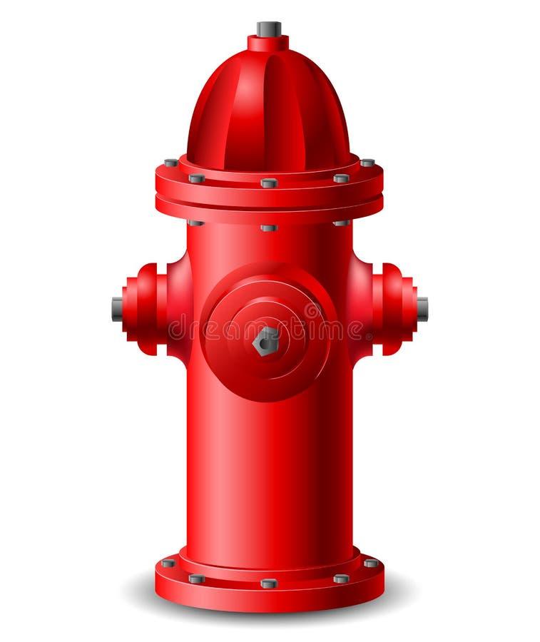 消防栓 向量例证
