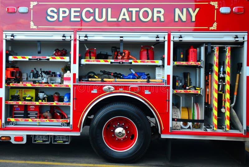 消防车细节 库存照片