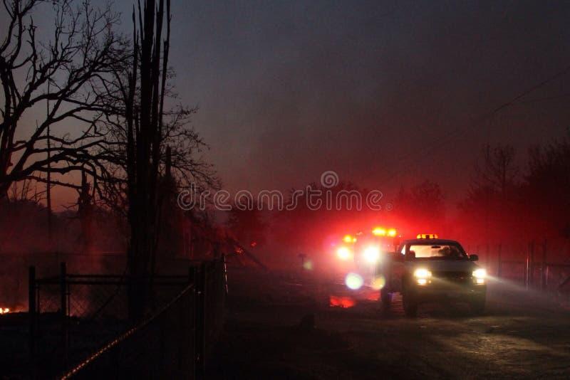 消防车 图库摄影