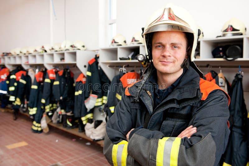 消防队员 库存图片
