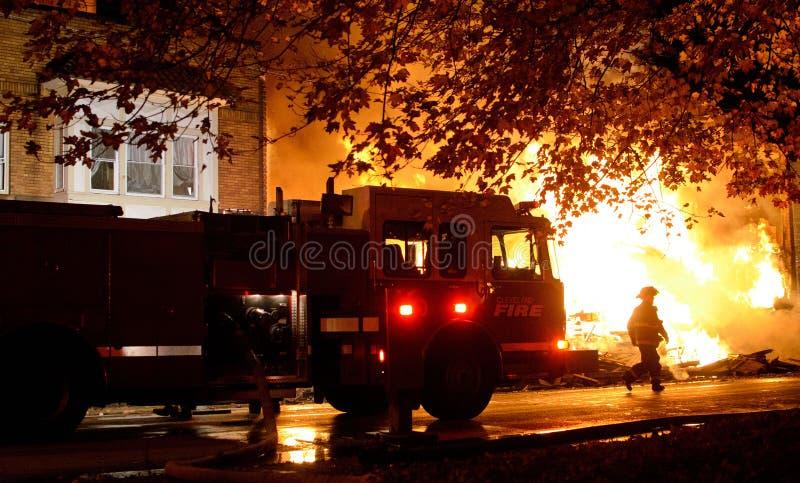 消防队员 免版税图库摄影