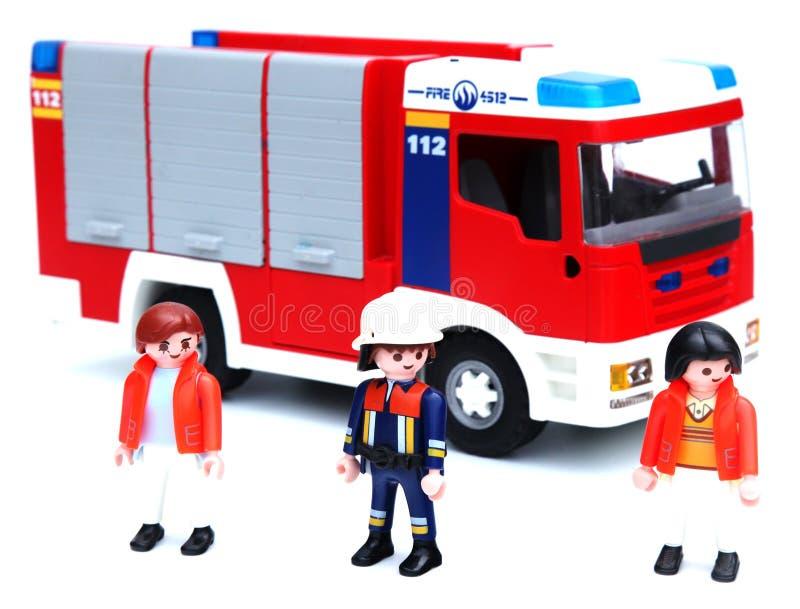 消防队 免版税库存照片