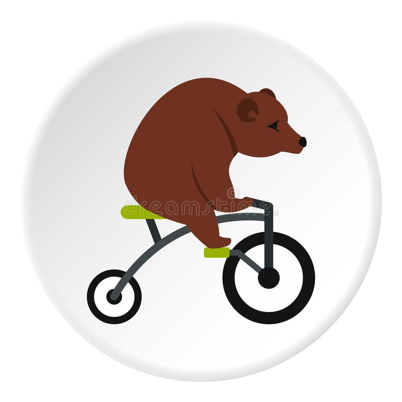 涉及自行车象圈子 皇族释放例证