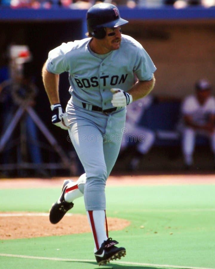 涉过Boggs波士顿红袜 免版税库存图片