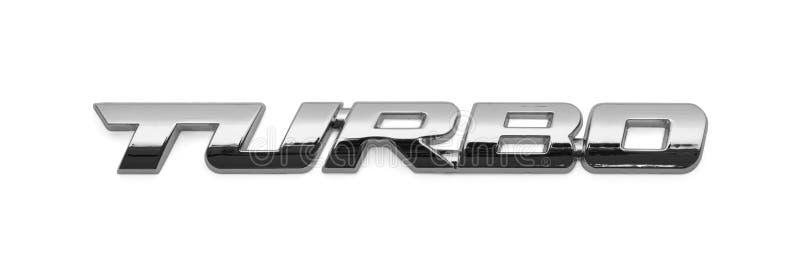 涡轮汽车商标 向量例证