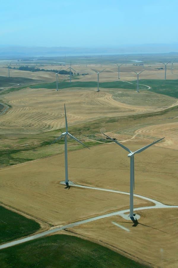 涡轮风车 免版税库存图片