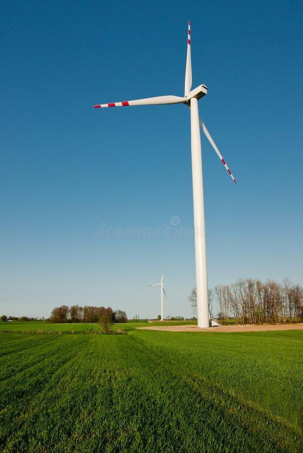 涡轮风 库存图片