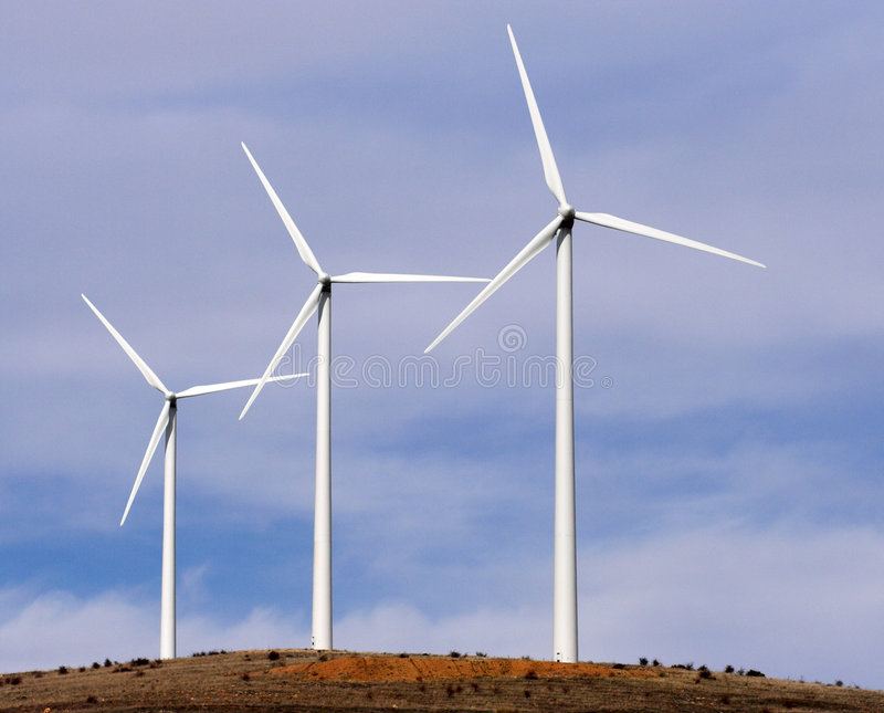 涡轮风 库存照片